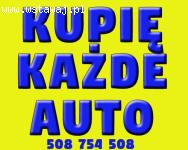 Kupię KAŻDE auto od rocznika 2000 (