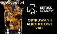 Detoks alkoholowy w domu | 24H | ZADZWOŃ