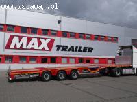 Naczepy platformy MAX Trailer, FAYMONVILLE, GOLDHOFER