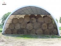 hala tunelowa  magazyn konstrukcja kratownicowa 10x38
