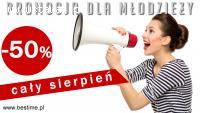 Sierpniowa promocja! -50% na karnety dla młodzieży!