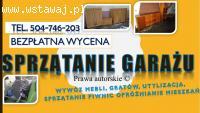 Sprzątanie piwnicy, cennik, usługi. tel. 504-746-203,Wrocław