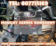 Mobilny Serwis Rowerowy Warszawa , Mazowieckie