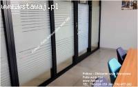 Folia okienna wzór 560 , Folia okienna wzór mgła 152 Folkos