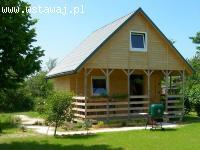 Domek piętrowy do ogrodu lub na działkę