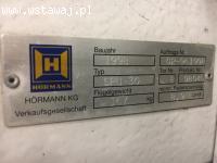 Sprzedam bramę segmentową Hormann