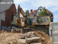 Kompleksowe wyburzenia, rozbiórki i roboty ziemne!