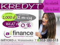 All Finance Giżycko - pożyczki, kredyty, ubezpieczenia