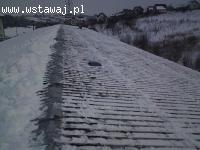 odśnieżanie dachów Kraków Skawina Wieliczka