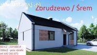 Sprzedam dom w Zbrudzewie - nowe osiedle, 80m2