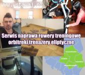 Serwis naprawa Rowery treningowe,orbitreki