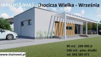 Dom w Chociczy Wielkiej na sprzedaż, 80 m2 299000 zł