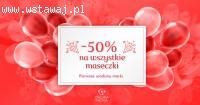 -50% zniżki na wszystkie maseczki z okazji 1 urodzin Calluna