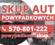 Samochody powypadkowe kupię - Skup aut po wypadku