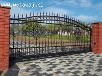 Bramy, ogrodzenia, balkony - tanio producent
