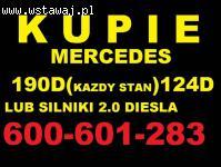 Skup Mercedes 190d 124d 2.0D