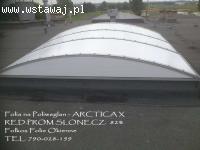 Folie przeciwsłoneczne na świetliki dachowe -Folia na poliwę