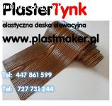 PlasterTynk  - Elastyczna deska elewacyjna