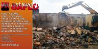 Wyburzenia, rozbiórki, utylizacja odpadów budowlanych