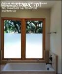 Folia na okno łazienkowe- nie zaciemnia a daje 100% prywatno