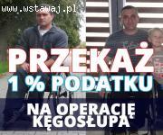Operacja Kęgosłupa oraz 1 % podatku