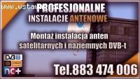 Instalacja anten satelitarnych Nowogard