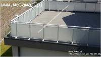 Folia na szyby balkonowe- Oklejanie balkonów Warszawa