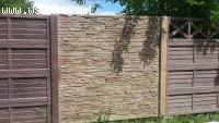 Ogrodzenia betonowe i podmurówka systemowa