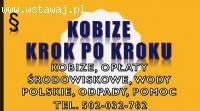 Szkolenia u klienta z Kobize, zobowiązków ochrony środowiska