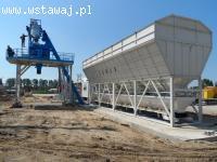 Stacjonarna jednostka zaprawowo-betonowa