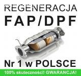 Regeneracja DPF/FAP  - wszystkie marki