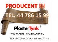 PlasterTynk ,elastyczna deska elewacyjna