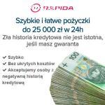 Oferujemy kredyty dla osób fizycznych od 25 000 zł