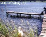 Mazury, dom letniskowy nad jeziorem Marksoby