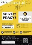 Magazynier/ka – 20 zł/h +premie! Darmowy transport do pracy!