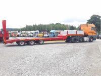 Transport niskopodwoziowy maszyn i gabarytów transport wywro