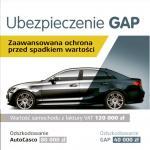 Ubezpieczenie GAP - od szkody całkowitej i kradzieży auta
