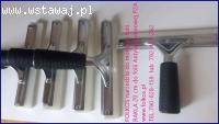 Folia antywłamaniowa P2A -Rakla do montażu folii antywłamani