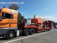 Pomoc drogowa transport ciągników maszyn rolniczych i budowl