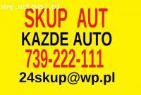 Skup aut 739 222 111 Auto kasacja Kupie każde auto