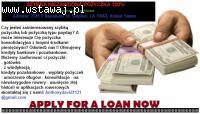 Oferujemy wszystkie rodzaje pożyczek