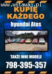 Kupię Hyundai Atos Umowa kupna-sprzedaży, odbiór cała Polska