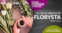 Akademia Sukcesu zaprasza na bezpłatny kierunek - Florysta!