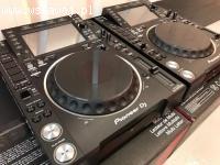 2x Pioneer CDJ-2000NXS2 + 1x DJM-900NXS2 mixer dla $2000