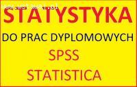 Części badawcze i analiza statystyczna m.in. do prac lic.