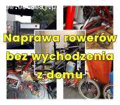 Rowery naprawa, serwis mobilny. Dojazd - Siedź w domu dzwoń 6077