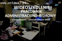 Szkolenie Pracownik administracyjno – biurowy