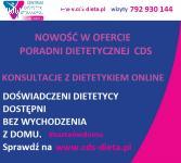 PORADY DIETETYKA PRZEZ INTERNET KONSULTACJE PORADNIA CDS