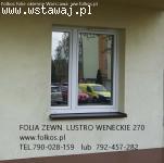 Folia lustro weneckie Tarchomin, Odkryta -szyba wenecka,foli