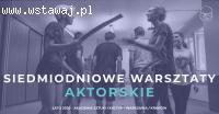 Lato 2020 warsztaty teatralne Warszawa/Kraków